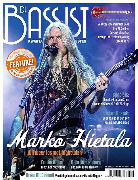 De Bassist 53, juli-aug-sept 2020