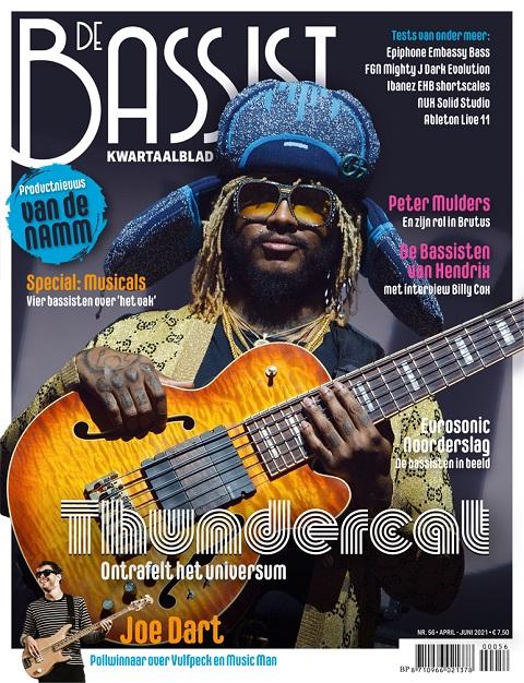 De Bassist 56, april-mei-juni 2021