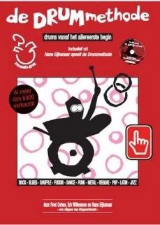 Drummethode, inclusief cd Hans Eijkenaar t.w.v. € 19,95