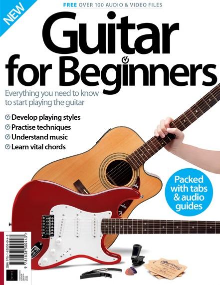 Guitar for Beginners - prachtig vormgegeven beginnersboek - 164 pagina's - t.w.v. 29,90