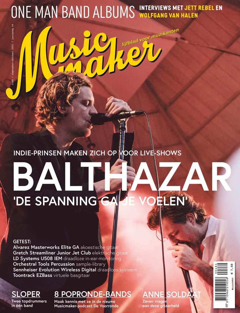 Jaarabonnement (6 edities) op Musicmaker t.w.v. € 29,90