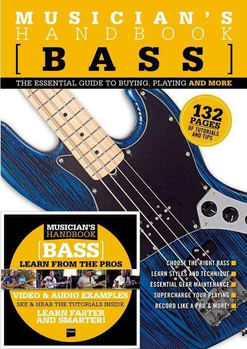Musician's Handbook Bass incl. cd t.w.v. 23,90