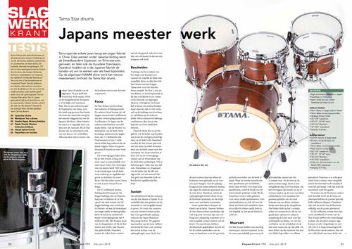 Tama Star Drums - Test uit Slagwerkkrant 175