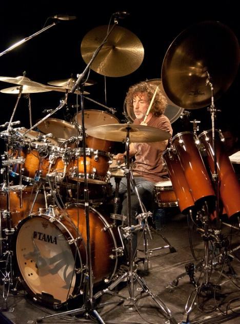 Simon Phillips in Drumland, 1 mei 2014