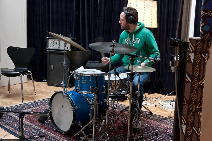 Joost Patocka clinic bij 1ste Halve Finale Drumtalent in Amsterdam