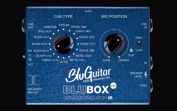 BluGuitar introduceert de BluBOX Virtual Speaker Collection