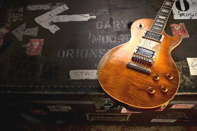 Gary Moore's gitaren: Gitarist plugt in!