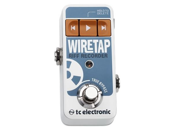 TC Electronic komt met Wiretap Riff Recorder