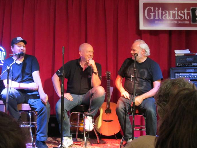 Tim Knol  en Nico Dijkshoorn over gitaren
