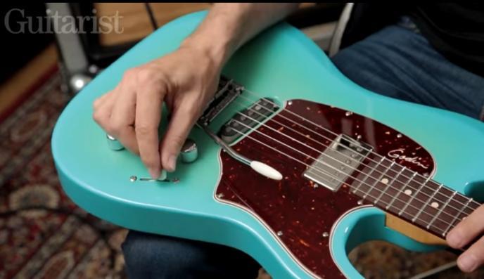 Video's bij de tests in Gitarist 305