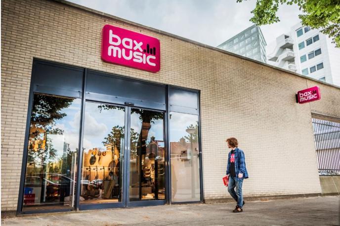 Bax Music opent nieuwe muziekwinkel in Amsterdam