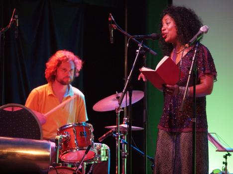 monica drums