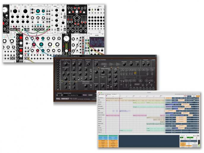 Interface Freeware 213: VCV Rack, PS-3100, Tracktion T6