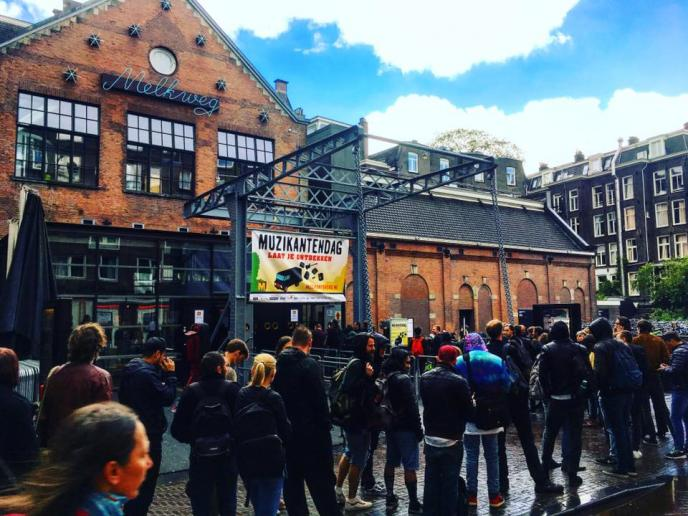 Muzikantendag 2018 in Melkweg, Amsterdam - za 26 mei