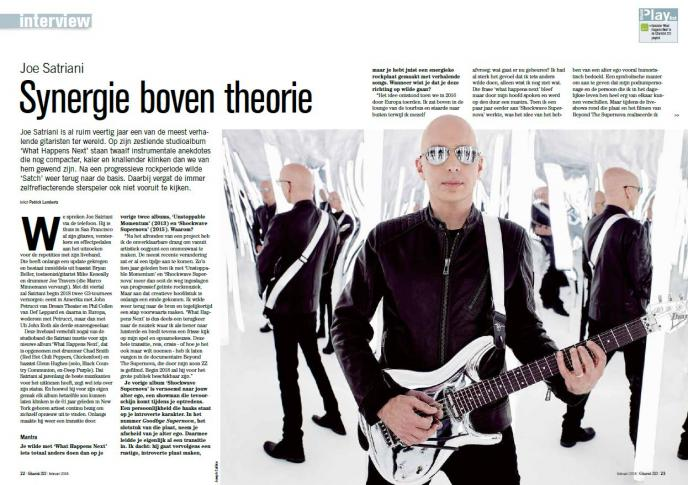 Joe Satriani ontvangt Sena European Guitar Award