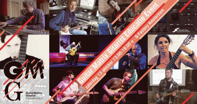 Guitar Matrix Gitarist Educatie Event in Amsterdam - 13 oktober 2018