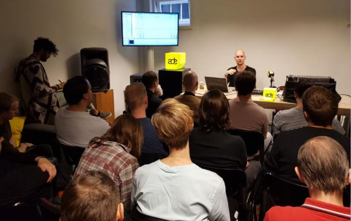 ADE Sound Lab 2018 reports Part 1 - In The Studio With