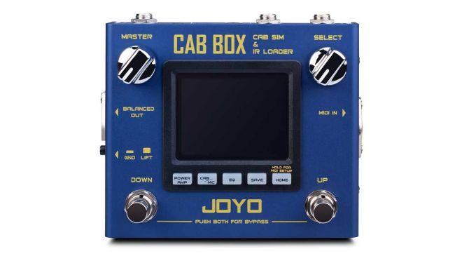 Veel features in Joyo Cab Box cabsimulator
