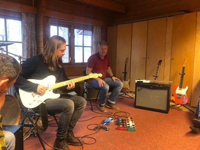 Guitar Bootcamp Zomerkamp in Ardennen