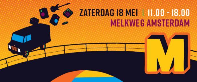 Muzikantendag 2019 in Melkweg, Amsterdam 18 mei