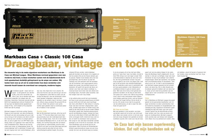 Markbass Casa + Classic 108 Casa
