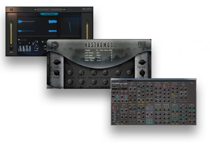 Download nieuwe freeware! Action Tremolo, Nostromos Free, ModulAir