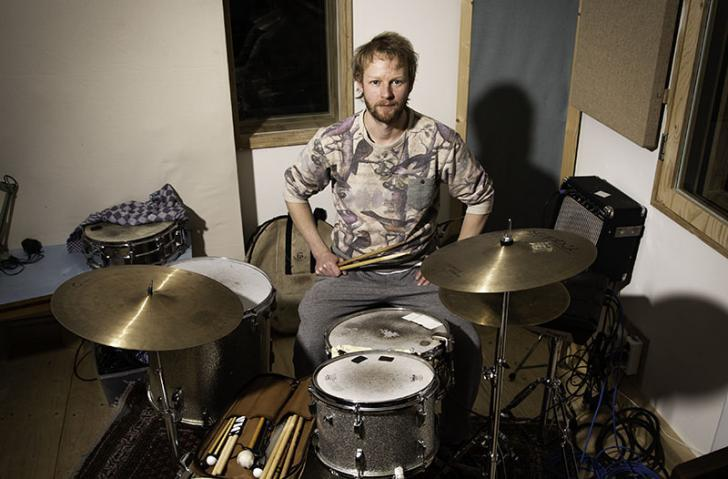 Bo Koek - Hybride beats bij Sheila And The Kit