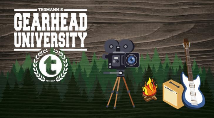 Thomann's Gearhead University - de video's