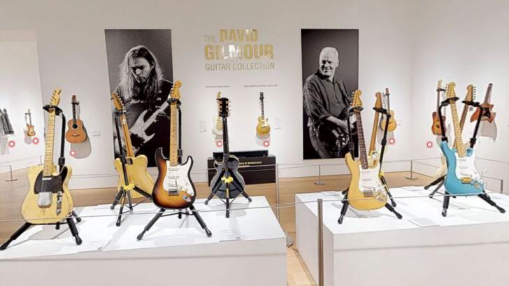 Bekijk alle gitaren die David Gilmour vandaag laat veilen!