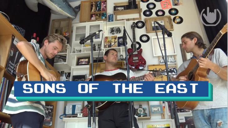 Aquarium Sessions met Sons of the East - de video's