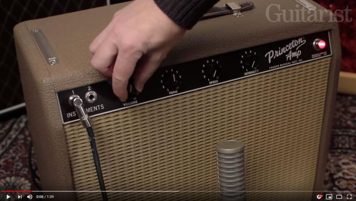 Video bij de Fender amp-test in Gitarist 341