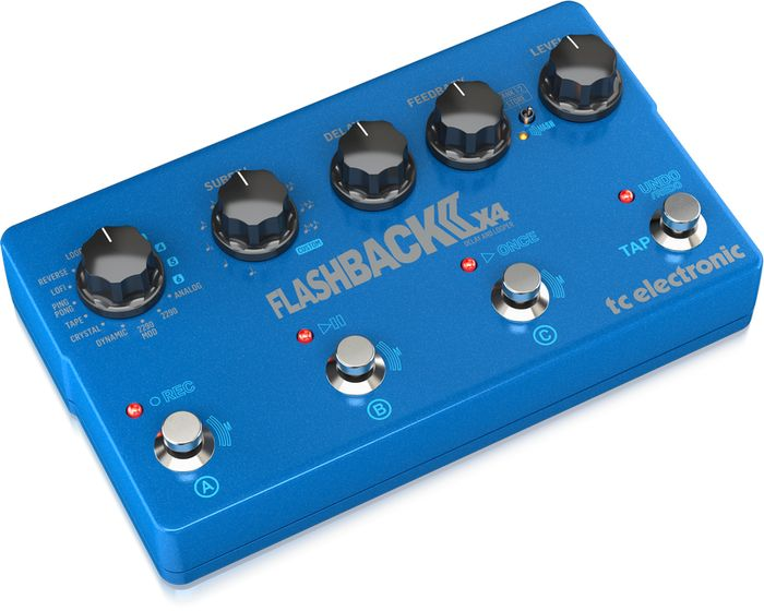 TC Electronic Flashback X4 delay nu ook met MASH-schakeltechnologie