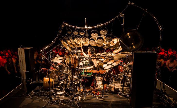 Terry Bozzio clinic op Slagwerkkrant Podium bij Terpstra Muziek Drumland
