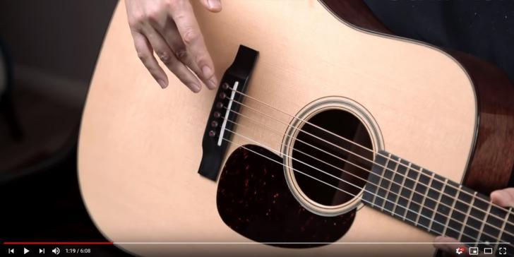 Video bij de Martin test in Gitarist 342