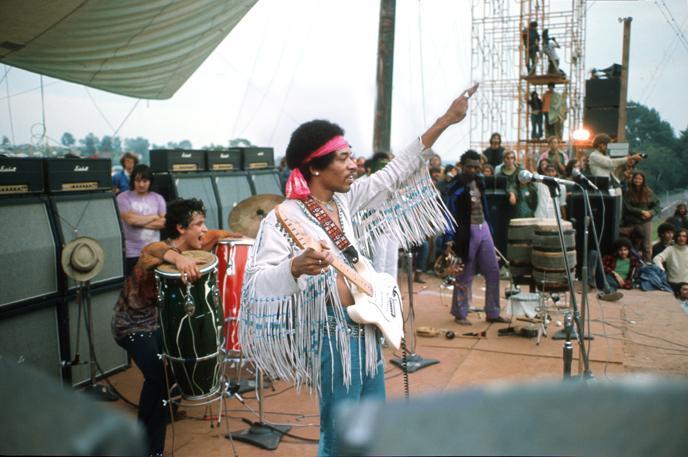 Fender markeert 50 jaar Woodstock met  Jimi Hendrix Stratocaster