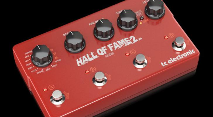 TC Electronic Hall of Fame 2x4 reverbpedaal