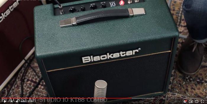 Video bij de Blackstar test in Gitarist 343