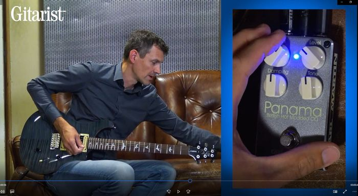 Video bij de Carl Martin test in Gitarist 343