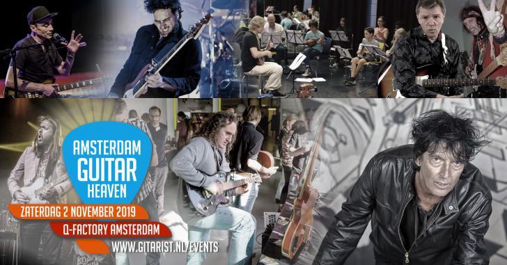 Amsterdam Guitar Heaven in Q-Factory Amsterdam - 2 november 2019