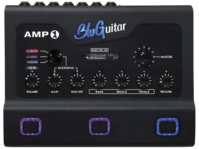 BluGuitar presenteert AMP1 Iridium Editie