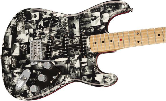 Gitaar- en fotografiepassie Andy Summers komen samen in signature-Stratocaster