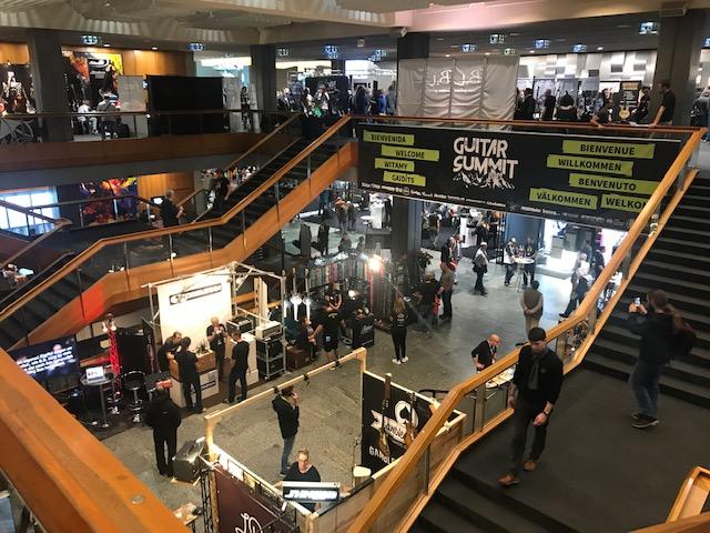 De Guitar Summit in Mannheim pakt het groots aan