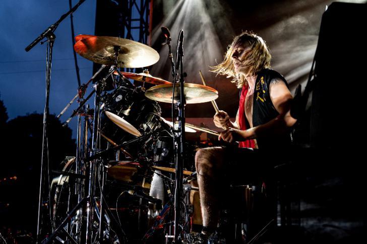 Rufus Tiger Taylor leerde drummen van zijn vader
