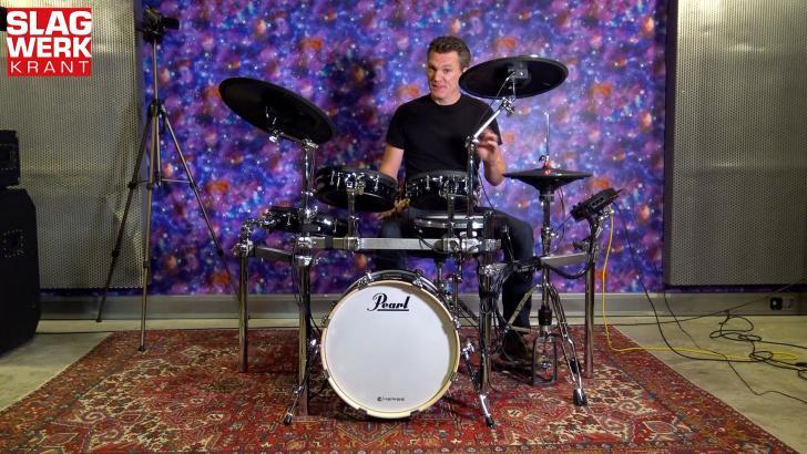 Videoreview van de gloednieuwe Pearl e/Merge e/Hybrid elektronische drums