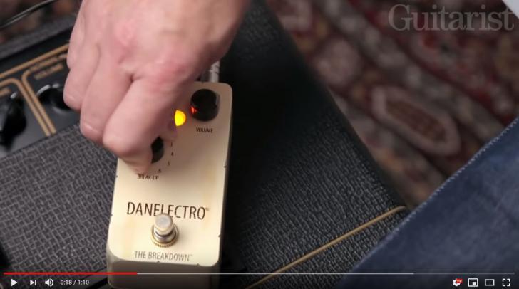 Video bij de Danelectro test in Gitarist 344
