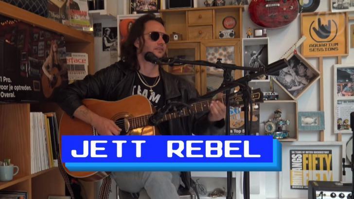 Aquarium Sessions met Jett Rebel