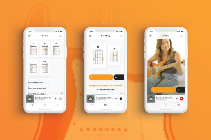 Fender Songs app biedt meer dan 750.000 nummers om te leren
