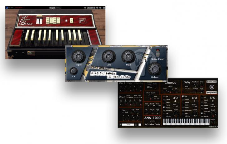 Download nieuwe freeware! Kee Bass, ANA-1000, La Petite Excite