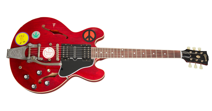 Nog een Woodstockgitaar
