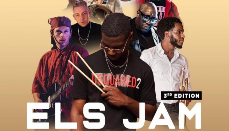 Els Jam #3 met clinics Emmanuel Afriyie met Stephan Asamoah-Duah